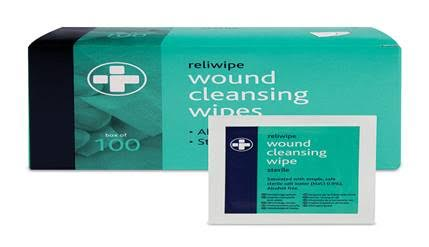 Alcohol Free Cleansing Wipes Box of 100