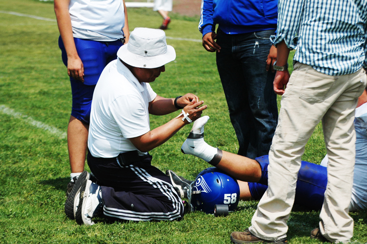Emergency First Aid in Sports Course
